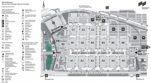 plattegrond expo Real Munchen